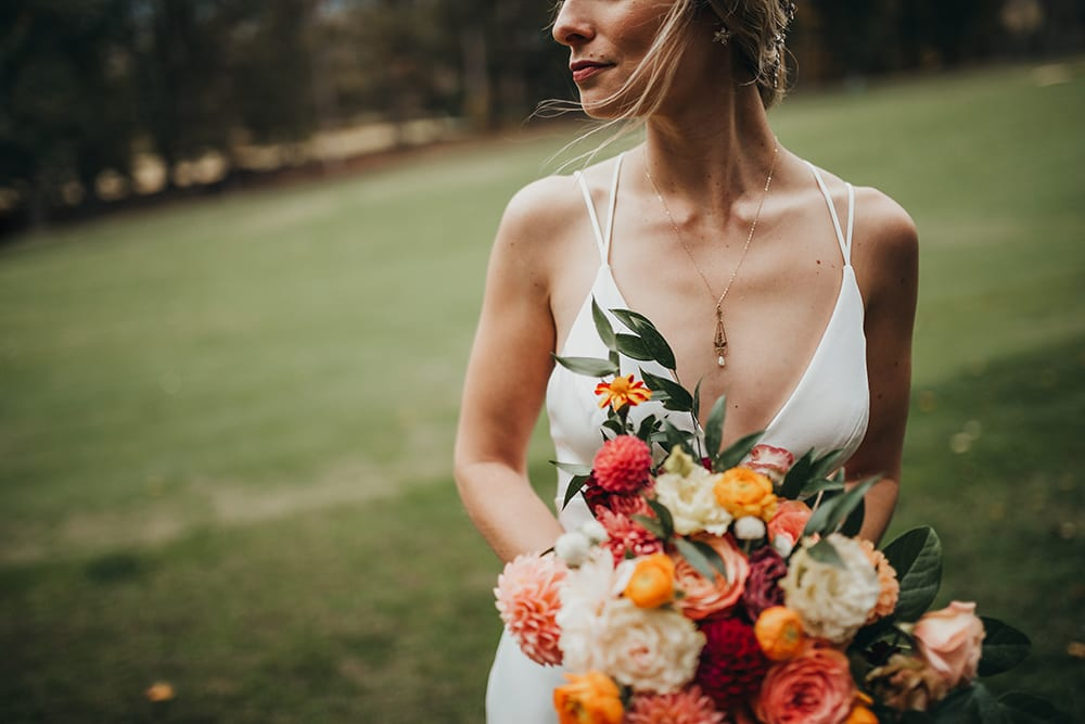 Bridal Portraits in Asheville, NC.